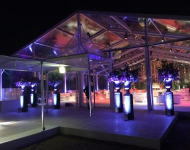 Structure & décor – Réception privée