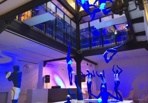Scénographie Keep Calm & Dive In – La Cofrad